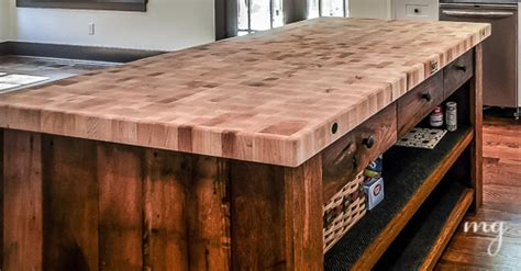 kitchen island reclaimed wood reclaimed wood 5142
