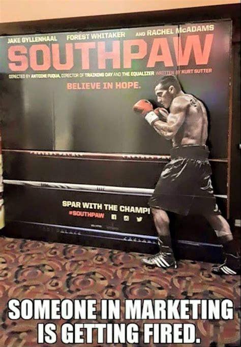 Meme Posters - boxing meme southpaw movie poster does not feature a southpaw proboxing fans com