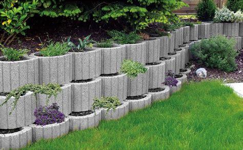 Garten Gestalten Mit Pflanzsteinen  Nowaday Garden
