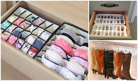 Closet Drawer Organization Ideas by 33 Amazing Tips To Keep Your Closet And Dresser Organized