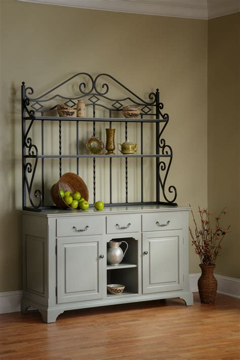 open front buffet  bakers rack town country furniture