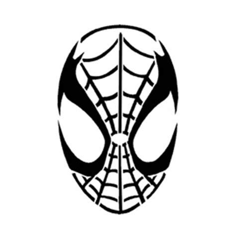 spiderman mask stencil  stencil gallery