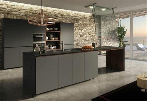 cuisine contemporaine grise cuisine gris anthracite 56 idées pour une cuisine chic