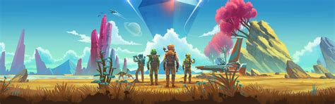wallpaper  mans sky ps game  uhd  picture