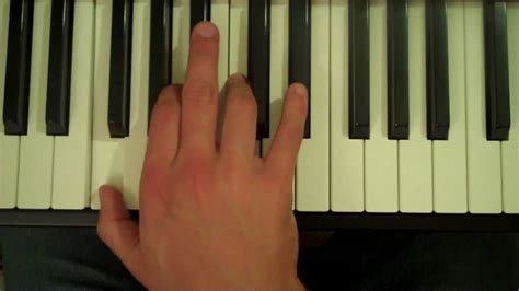 How to play f7 chord piano music