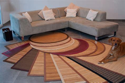 Bambusteppich Bambus Teppich Läufer Vorleger Auch Rund