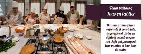 team building cuisine team building cuisine tous en tablier