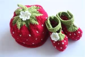 Baby Strawberry Hat