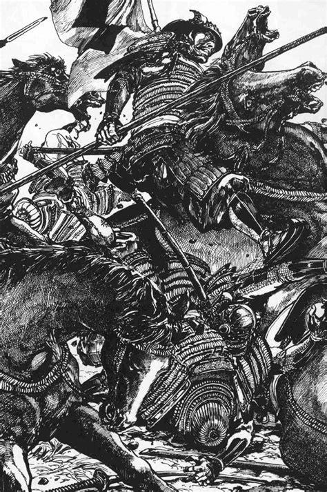 Resultado de imagem para Hiroshi Hirata | Samurai artwork, Art sketches, Manga illustration