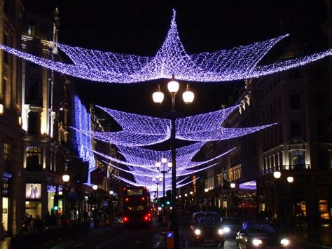 panoramio photo of christmas lights on regent street