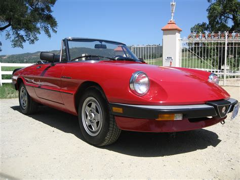 Alfa Romeo 1986 by 1986 Alfa Romeo Spider Auto New Car Gallery