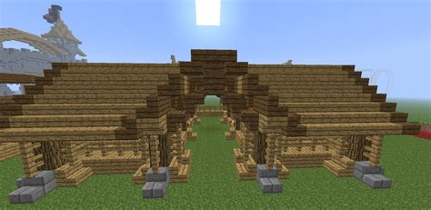 blueprints to build a house minecraft stable tutorial how to build a stable