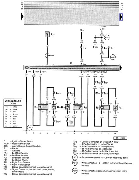 2002 jetta stereo wiring diagram with on wiring diagram