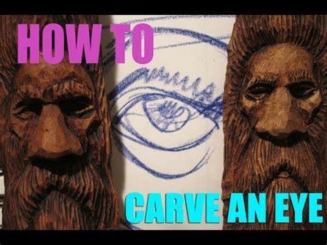 eye tutorial   carve eyes   wood spirit youtube