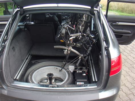 fahrrad im auto transportieren bild 8 fahrrad ohne fahrradhalter im auto transportieren gehts audi a6 4f 202955133
