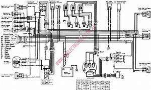 1986 Kawasaki Bayou 300 Wiring Diagram