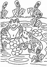 Oat Frogs Meal Coloring Familycorner Template Corner Staff sketch template