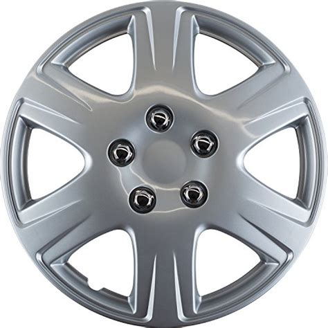 Toyota Hubcaps by Oxgord Hubcaps For Toyota Corolla Pack Of 4 Wheel Covers