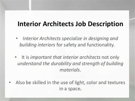 interior design description freelance interior designer description