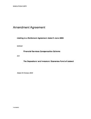 Editable settlement agreement template uk - Fill, Print & Download Forms in Word & PDF | debt
