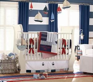 Decoration Chambre Style Marin : chambre garcon style marin ~ Zukunftsfamilie.com Idées de Décoration