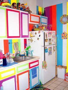 colorful kitchen  pinterest rainbow kitchen colorful kitchens  le creuset