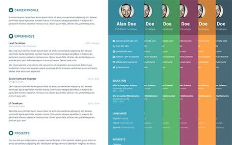 Free Bootstrap Resumecv Template For Developers Orbit