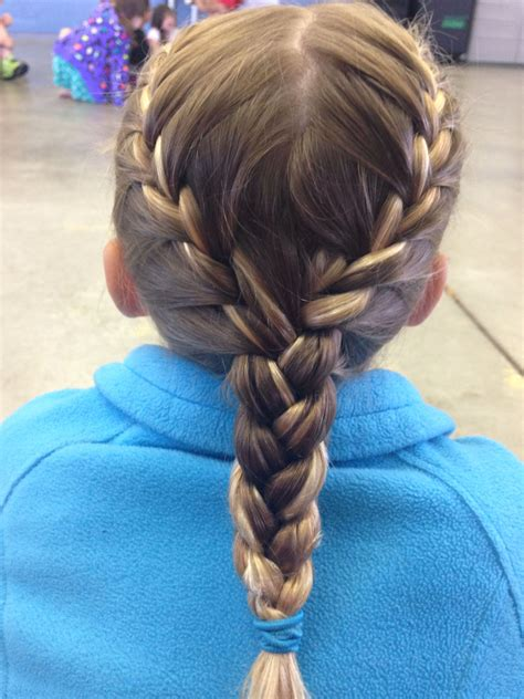 Hairstyles With Braids For by Two Braids Into One Braid Hairstyles I Done