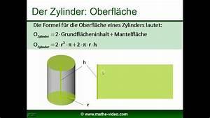 Zylinder Volumen Berechnen : zylinder volumen oberfl che beispielaufgaben nachhilfe kostenlos youtube ~ Themetempest.com Abrechnung