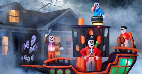 lowescom   huge halloween inflatables  ready