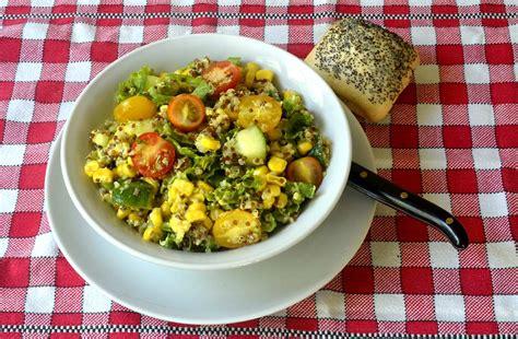 cuisiner du quinoa salade de quinoa sauce moutarde par ma cuisine santé