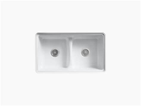 sinks for kitchen k 5838 deerfield top mount kitchen sink kohler 6936