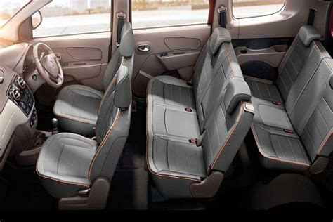 renault lodgy seating renault lodgy price in india news reviews photos the
