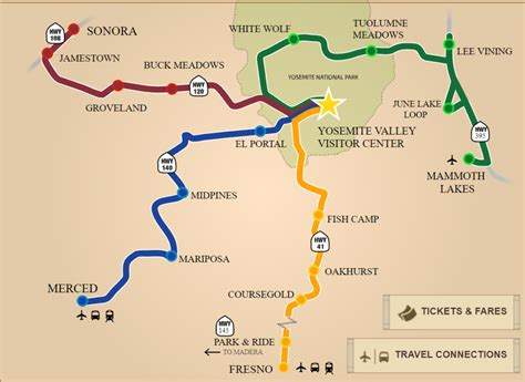 Yosemite Transportation Yarts Discover