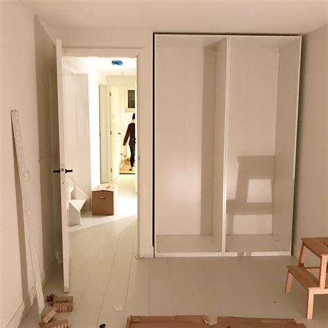 Slaapkamer Kast Ikea by Inbouwkast Met Ikea Pax Inrichting Huis