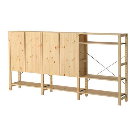 ivar 3 sections tablettes armoire ikea