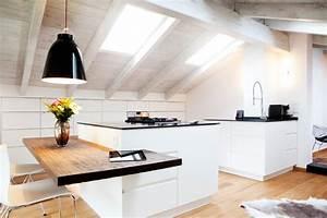 Lampe über Kochinsel : rinderloft skandinavisch k che m nchen von bespoke interior design production ~ Buech-reservation.com Haus und Dekorationen