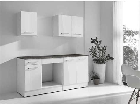 conforama cuisine complete cuisine complète greta 2 coloris blanc chez conforama