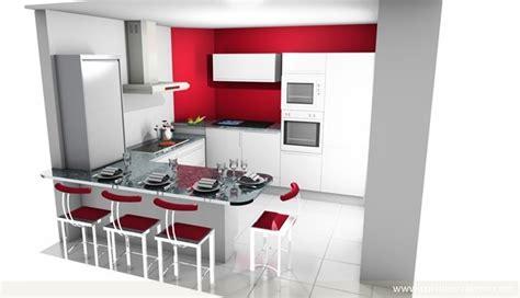 cuisine en 3 d davaus plan de cuisine en u gratuit avec des idées