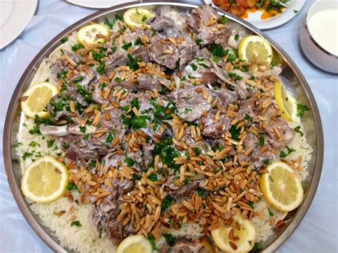 traditional cuisine recipes mansaf traditional dish