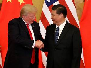 Trump in China: US President does not take reporter ...