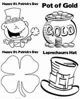 Coloring Patricks Patrick Printables Crafts Junkie Tip Tipjunkie sketch template