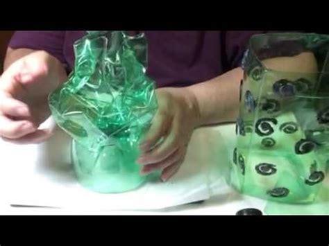 como hacer una lara con botellas de plastico recicladas vide o 21