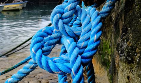 Boat Rope by Free Images Sea Rope Dock Mooring Boat Color Blue