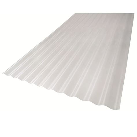 bastion 2 5m clear polycarbonate roofing sheet bunnings