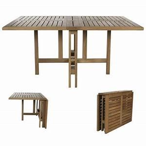 Table Balcon Ikea : table pliante gateleg marie claire maison ~ Preciouscoupons.com Idées de Décoration
