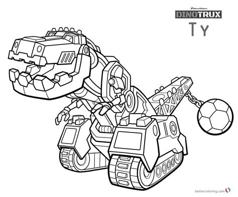 Dinotrux Kleurplaat by Dinotrux Ty Coloring Pages Free Printable Coloring Pages