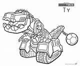 Dinotrux Coloring Ty Printable Kleurplaat Characters Bettercoloring Template sketch template