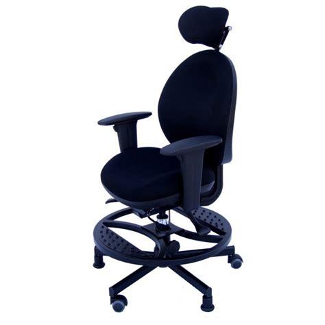 chaise de bureau orange gdle siège taille elfe