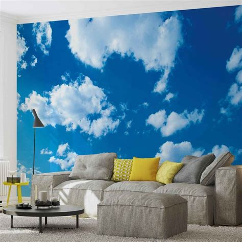 Wall Murals Sky by Clouds Sky Nature Wall Paper Mural Buy At Europosters